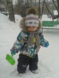 Продам зимний костюм на мальчика. Фото 1.
