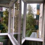 Остекление балконов. Фото 2.