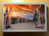 Паззл (пазл) зимний лес (500 шт). Фото 1.