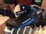 Ботинки лыжные беговые. Фото 1.