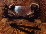 Хоккейные коньки bauer. Фото 4.