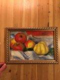 Картина маслом живопись печать на холсте багет. Фото 1.