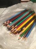 Карандаши цветные. Фото 1.