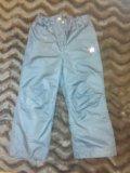 Бронь!брюки на девочку, рост: 110-116. Фото 1.
