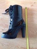 Ботиночки лак. Фото 3.