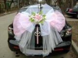 Свадебные украшения на машину ручной работы. Фото 3.