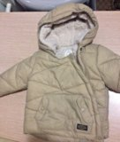 Теплая куртка зара. Фото 2.