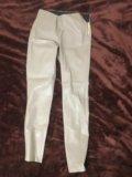Кожаные штаны zara. Фото 1.
