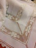 Скатерть белая испания 170:130. Фото 3.
