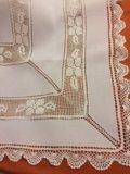 Скатерть белая испания 170:130. Фото 4.
