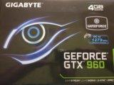 Gigabyte gtx 960 winforce oc 4gb. Фото 1.