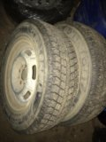 Зимние колеса два r13. Фото 1.