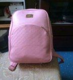 Розовый рюкзак. Фото 2.