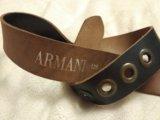 Пояс кожа armani. Фото 2.