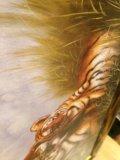 Картина тигры в полосатой раме. Фото 2.