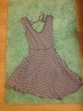 Летнее платье 42 размер. Фото 1.