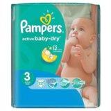 Памперсы active baby-dry 3. Фото 1.