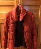 Куртка красная. Фото 1.
