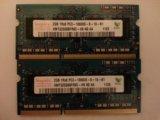Hynix 2 gb pc3 10600 so-dimm. Фото 1.
