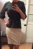 Юбка стрейч +блузка. Фото 1.