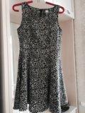 Леопардовое платье. Фото 1.