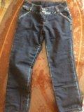 Утеплённые джинсы. Фото 1.