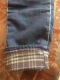 Утеплённые джинсы. Фото 3.