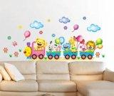 Интерьерные наклейки в детскую,паровоз,цена смех. Фото 2.