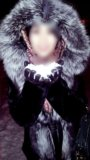 Шуба из кролика чернобурка. Фото 1.