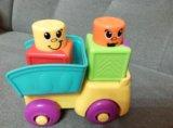 Машинка с кубиками fisher price. Фото 1.