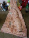 Пуховик для беременных на тинсулейте. Фото 3.