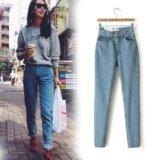 Новые джинсы с высокой талией. Фото 3.