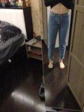 Новые джинсы с высокой талией. Фото 4.