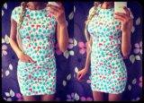 Приталеное платье качество 100%. Фото 1.