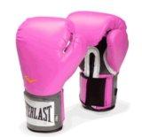 Печатки боксерские everlast 12 oz, розовые.. Фото 1.