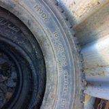 Продам 2 грузовых колеса 195/60/17.5 lt зима. Фото 1.
