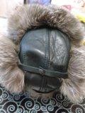 Мужская зимняя шапка из чернобурки. Фото 1.