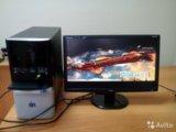 """Мощный игровой 4 ядра компьютер+ монитор 20"""". Фото 1."""