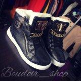 Зимние ботинки (новые). Фото 1.