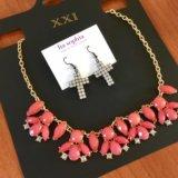 Серьги и ожерелье. Фото 3.