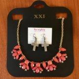 Серьги и ожерелье. Фото 2.