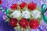 Корзины с цветами из мыла. Фото 1.