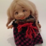 Куклы ручной работы из глины. Фото 2.