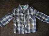Рубашка на мальчика 12 мес. Фото 1.