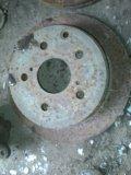 Задний тормозной диск. Фото 1.