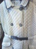 Плащ-пальто для девочки 128-140. Фото 2.