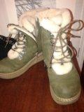 Ботинки натур.зимние. Фото 1.