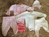 Набор вещей mothercare для девочки р 50-62. Фото 1.