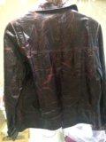 Женская коленная куртка 48 размер. Фото 2.