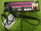 Утюжок для волос rowenta новый. Фото 1.